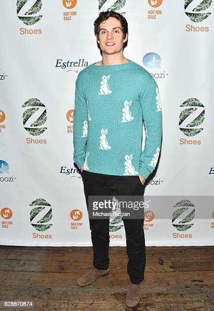 Actor Daniel Sharman arrives at Not For Sale x Z Shoes Benefit at Estrella Sunset on December 9 2016 in West Hollywood California