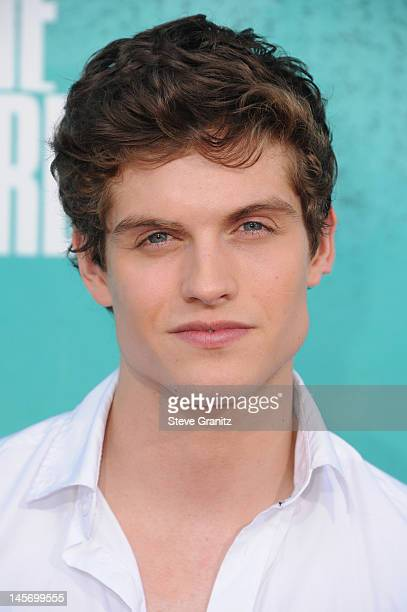 Actor Daniel Sharman arrives at the 2012 MTV Movie Awards at Gibson Amphitheatre on June 3 2012 in Universal City California