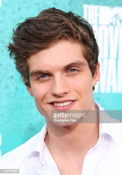 Actor Daniel Sharman arrives at the 2012 MTV Movie Awards held at Gibson Amphitheatre on June 3 2012 in Universal City California