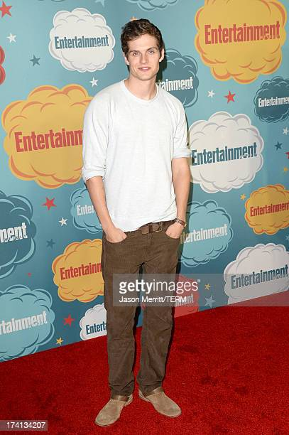 Actor Daniel Sharman attends Entertainment Weekly's Annual ComicCon Celebration at Float at Hard Rock Hotel San Diego on July 20 2013 in San Diego...