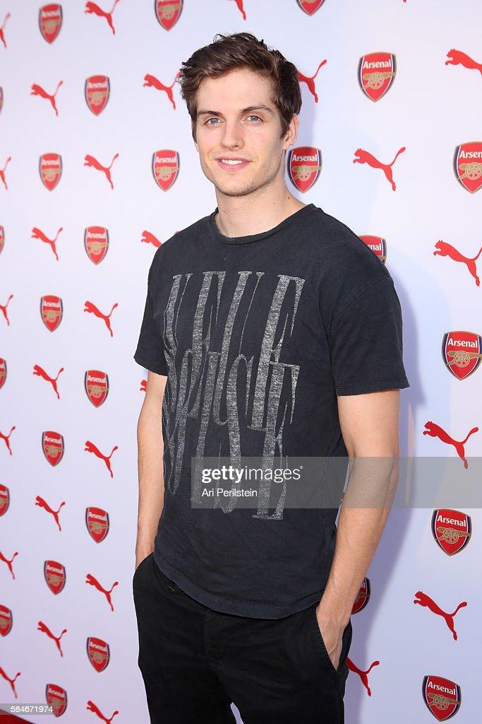 PUMA and Arsenal Football Club 2016/17 AFC Away & Third Kit Reveal Event : News Photo