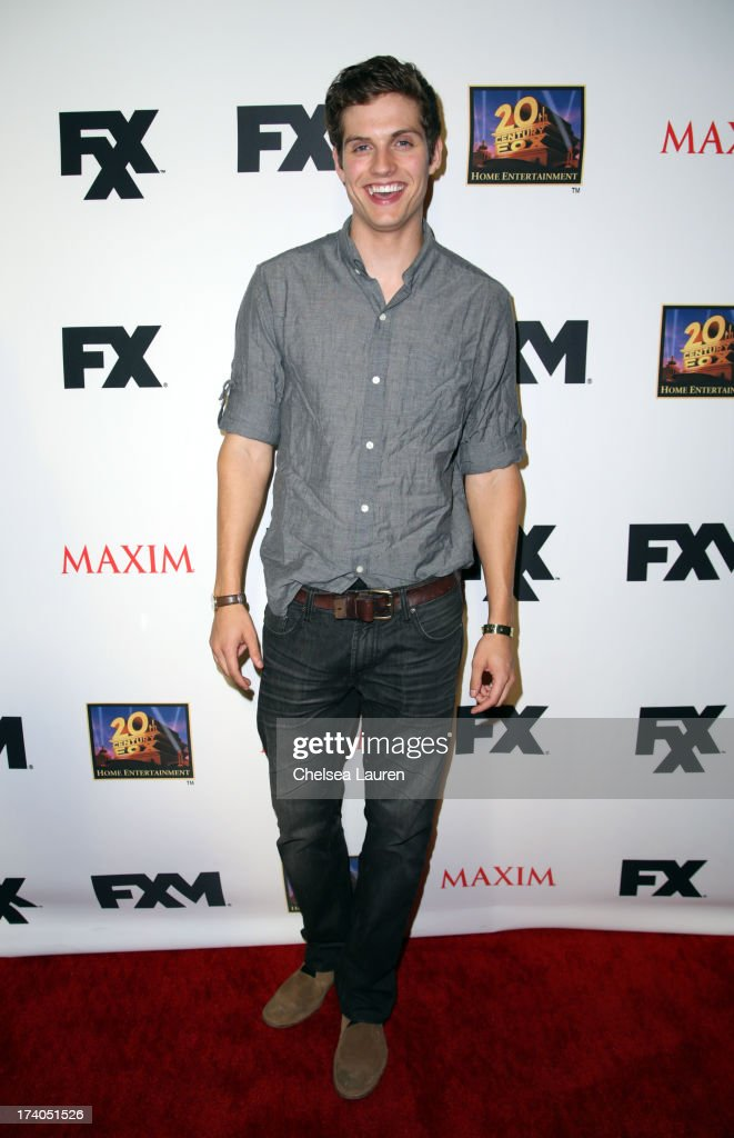 Actor Daniel Sharman attends the Maxim, FX and Home Entertainment Comic-Con Party on July 19, 2013 in San Diego, California.