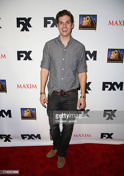 Actor Daniel Sharman attends the Maxim FX and Home Entertainment ComicCon Party on July 19 2013 in San Diego California
