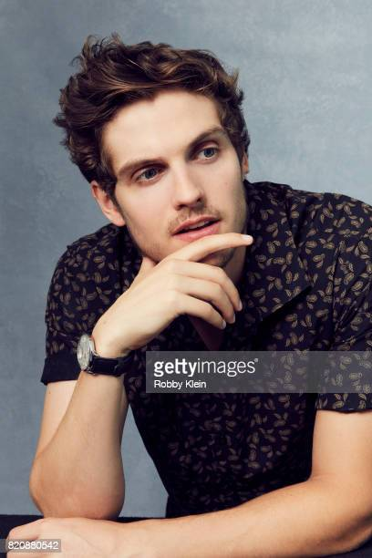 Actor Daniel Sharman from AMC's Fear of the Walking Dead poses for a portrait during ComicCon 2017 at Hard Rock Hotel San Diego on July 20 2017 in...