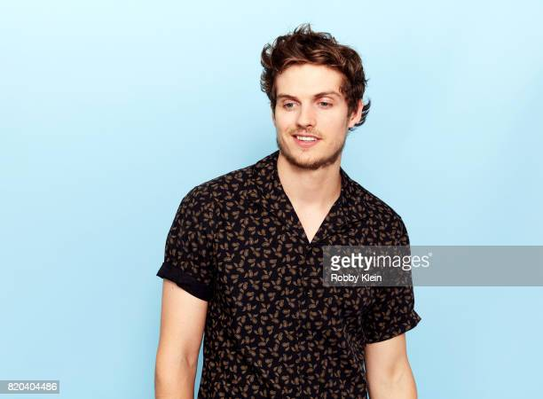 Actor Daniel Sharman of AMC's 'Fear the Walking Dead' poses for a portrait during ComicCon 2017 at Hard Rock Hotel San Diego on July 20 2017 in San...