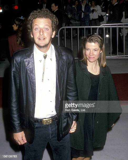 Actor Daniel Stern and wife Laure Mattos attend the 14th Annual People's Choice Awards on March 13, 1988 at 20th Century Fox Studios in Century City,...