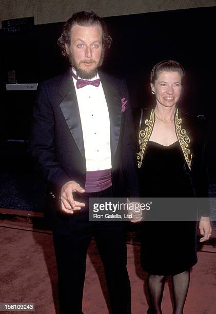 Actor Daniel Stern and wife Laure Mattos attend the 18th Annual People's Choice Awards on March 17, 1992 at Universal Studios in Universal City,...