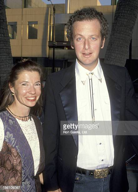 Actor Daniel Stern and wife Laure Mattos attend the 'City Slickers II: The Legend of Curly's Gold' on June 8, 1994 at Academy Theatre in Beverly...