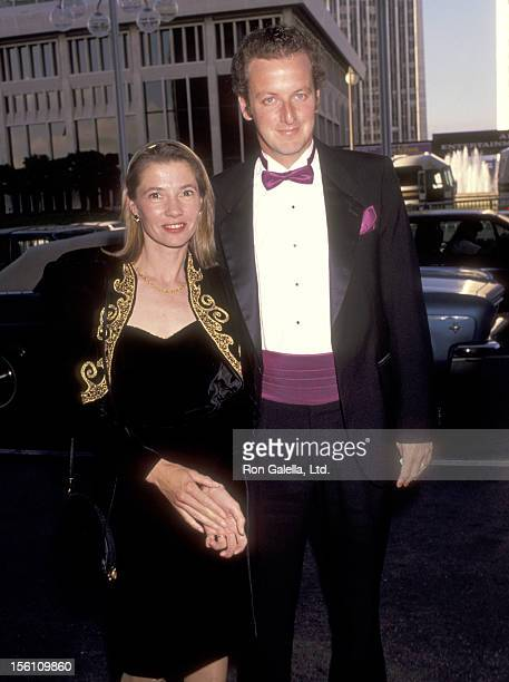Actor Daniel Stern and wife Laure Mattos attend the Variety -The Children's Charity Honors Joe Roth with the Big Heart Award on June 27, 1991 at...