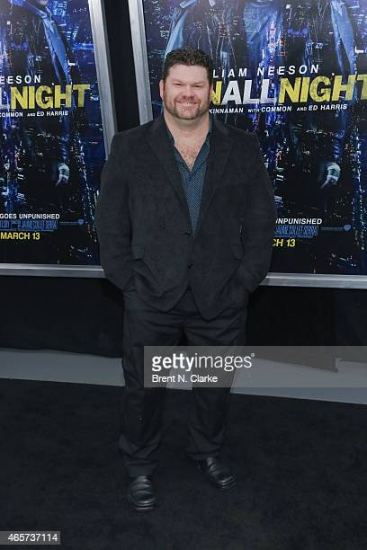 Actor Daniel Stewart Sherman arrives for the Run All Night New York Premiere at AMC Lincoln Square Theater on March 9 2015 in New York City