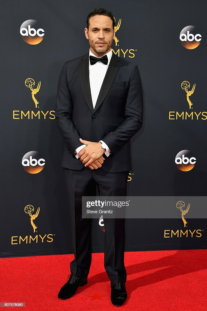Actor Daniel Sunjata attends the 68th Annual Primetime Emmy Awards at Microsoft Theater on September 18, 2016 in Los Angeles, California.