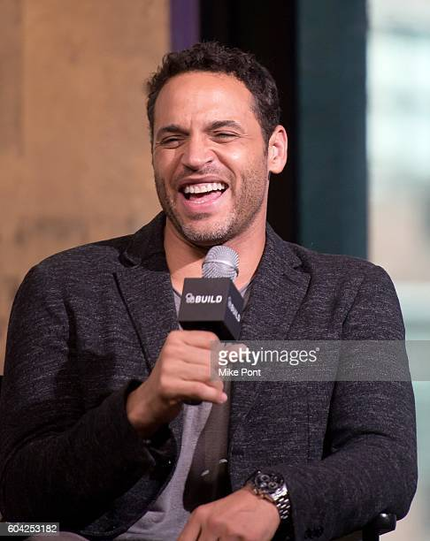 Actor Daniel Sunjata attends the AOL Build Speaker Series to discuss the ABC show 'Notorious' at AOL HQ on September 13 2016 in New York City
