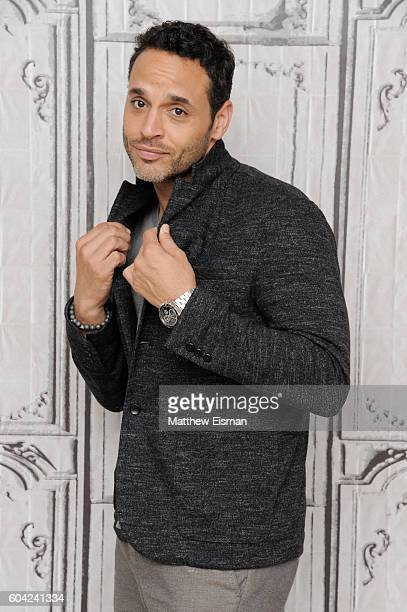 Actor Daniel Sunjata attends The BUILD Series Presents Daniel Sunjata Discussing The ABC show 'Notorious' at AOL HQ on September 13 2016 in New York...