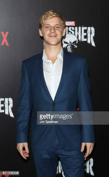 Actor Daniel Webber attends the 'Marvel's The Punisher' New York premiere at AMC Loews 34th Street 14 theater on November 6 2017 in New York City