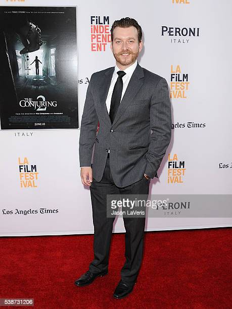 Actor Daniel Wolfe attends the premiere of The Conjuring 2 at the 2016 Los Angeles Film Festival at TCL Chinese Theatre IMAX on June 7 2016 in...