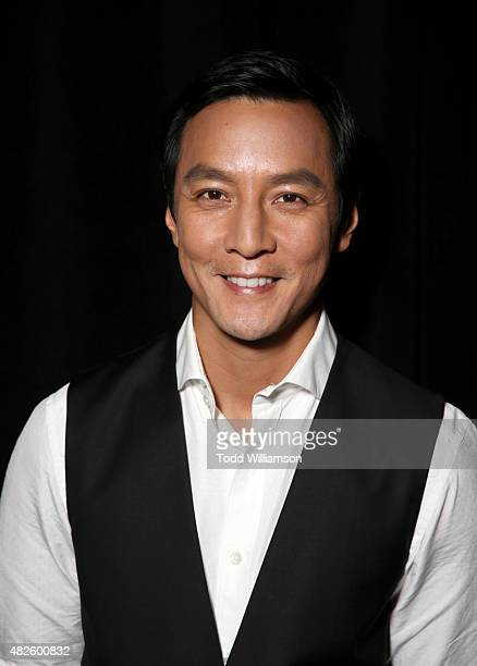 Actor Daniel Wu attends the AMC TCA panel at The Beverly Hilton Hotel on July 31 2015 in Beverly Hills California