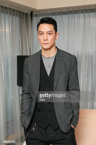 Actor Daniel Wu attends 'The Last Supper' press conference at Park Lane Hotel on December 19 2012 in Hong Kong Hong Kong