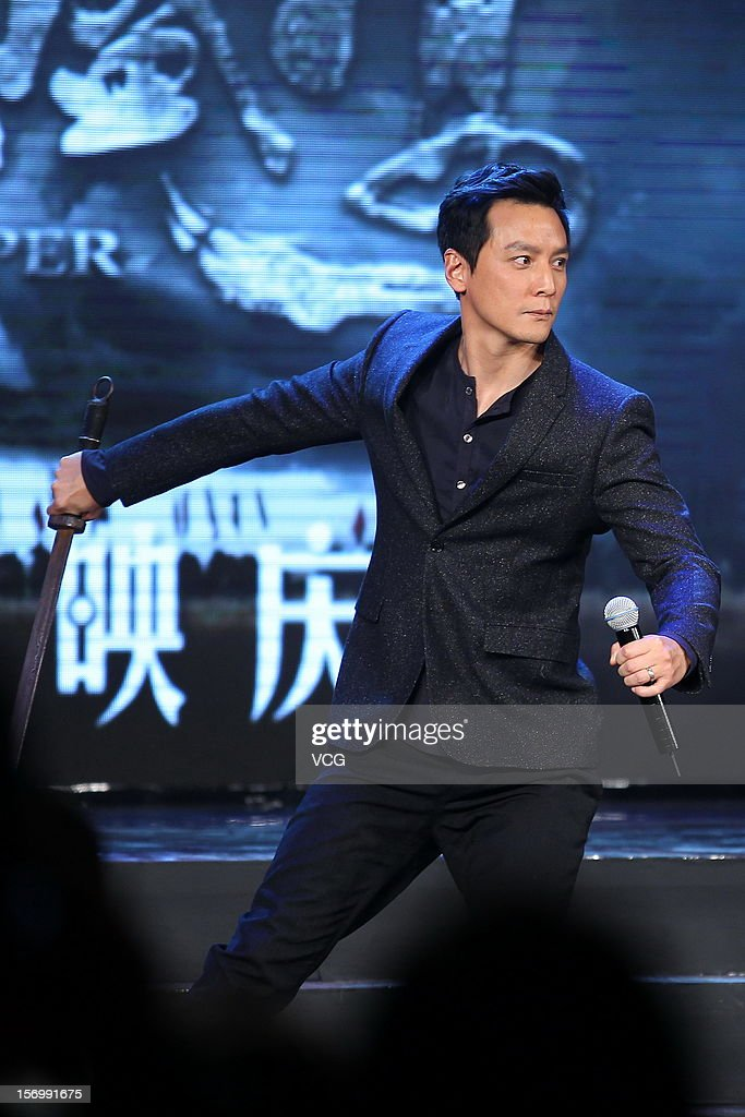 Actor Daniel Wu attends 'The Last Supper' press conference at Prosper Center on November 26, 2012 in Beijing, China.
