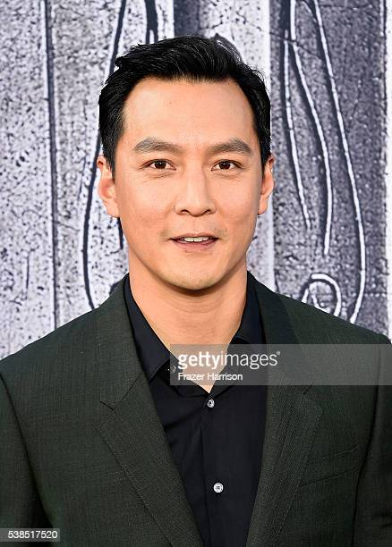 Actor Daniel Wu attends the premiere of Universal Pictures' 'Warcraft at TCL Chinese Theatre IMAX on June 6 2016 at TCL Chinese Theatre IMAX on June...