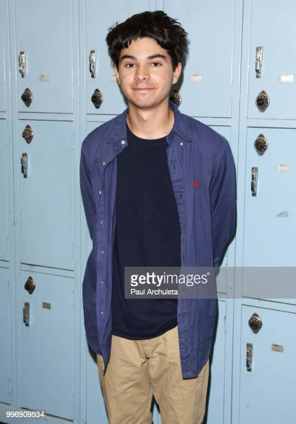 Actor Daniel Zolghadri attends the screening of A24's 'Eighth Grade' at Le Conte Middle School on July 11 2018 in Los Angeles California