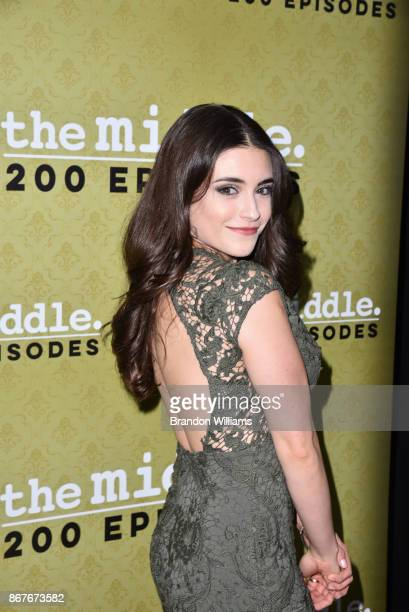 Actor Daniela Bobadilla attends ABC's 'The Middle' 200th epidsode celebration at Fig Olive on October 28 2017 in West Hollywood California