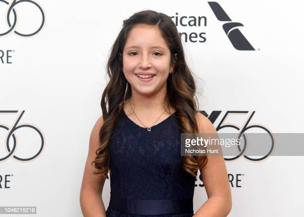 Actor Daniela Demesa attends the premiere of ROMA during the 56th New York Film Festival at Alice Tully Hall on October 5 2018 in New York City