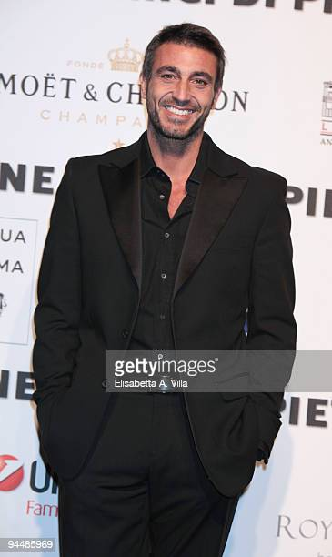 Actor Daniele Liotti attends Gala Dinner In Favour Of Pietro Gamba Association at Officine Farneto on December 15 2009 in Rome Italy