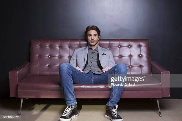 Actor Daniele Liotti is photographed for Self Assignment on March 29 2015 in Rome Italy