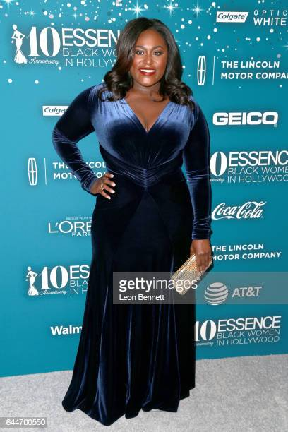 Actor Danielle Brooks at Essence Black Women in Hollywood Awards at the Beverly Wilshire Four Seasons Hotel on February 23 2017 in Beverly Hills...