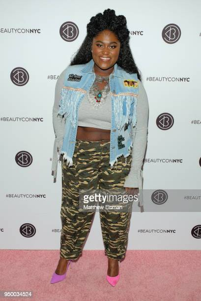 Actor Danielle Brooks attends Beautycon Festival NYC 2018 - Day 2 at Jacob Javits Center on April 22, 2018 in New York City.