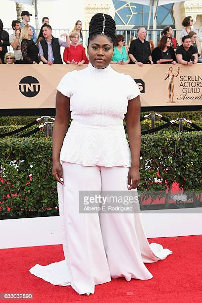 Actor Danielle Brooks attends the 23rd Annual Screen Actors Guild Awards at The Shrine Expo Hall on January 29 2017 in Los Angeles California