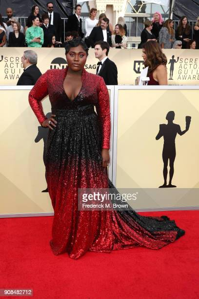 Actor Danielle Brooks attends the 24th Annual Screen Actors Guild Awards at The Shrine Auditorium on January 21 2018 in Los Angeles California...