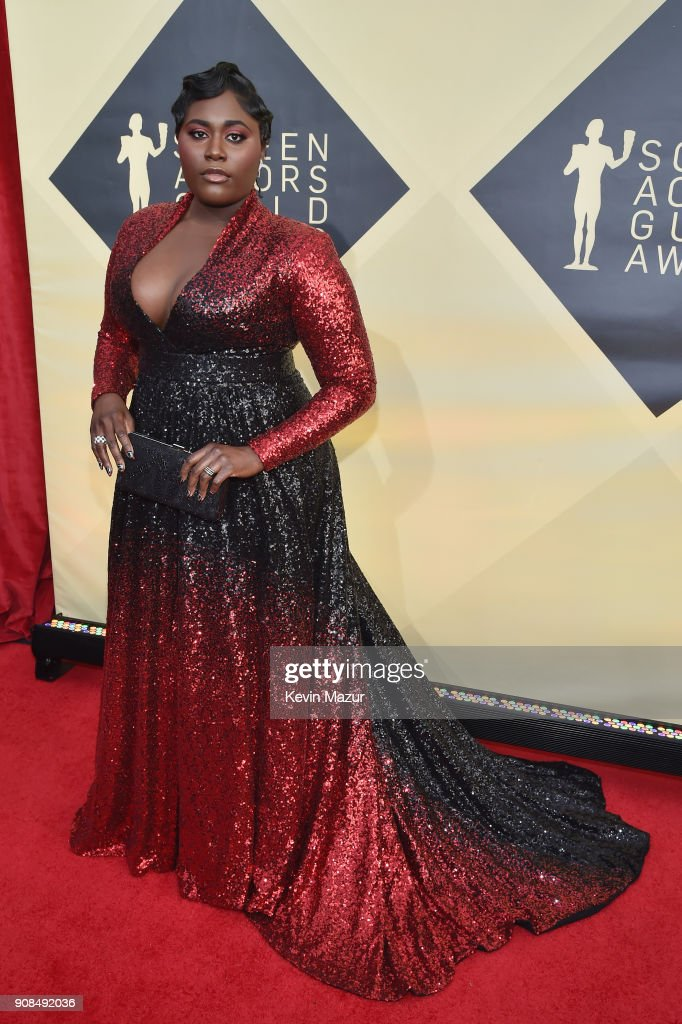 Actor Danielle Brooks attends the 24th Annual Screen Actors Guild Awards at The Shrine Auditorium on January 21, 2018 in Los Angeles, California. 27522_007