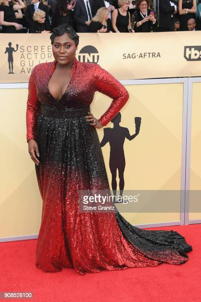 Actor Danielle Brooks attends the 24th Annual Screen Actors Guild Awards at The Shrine Auditorium on January 21 2018 in Los Angeles California