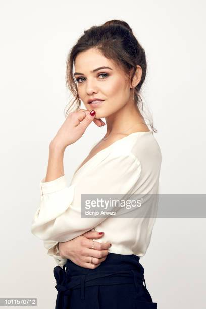 Actor Danielle Campbell of CBS's 'Tell Me A Story' poses for a portrait during the 2018 Summer Television Critics Association Press Tour at The...