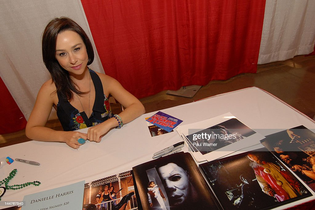 Actor Danielle Harris attends day 1 of Motor City Comic Con 2012 at the Suburban Collection Showplace on May 18, 2012 in Novi, Michigan.