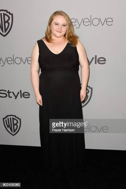 Actor Danielle Macdonald attends 19th Annual PostGolden Globes Party hosted by Warner Bros Pictures and InStyle at The Beverly Hilton Hotel on...
