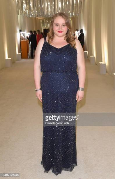 Actor Danielle Macdonald attends Bulgari at the 25th Annual Elton John AIDS Foundation's Academy Awards Viewing Party at on February 26 2017 in Los...