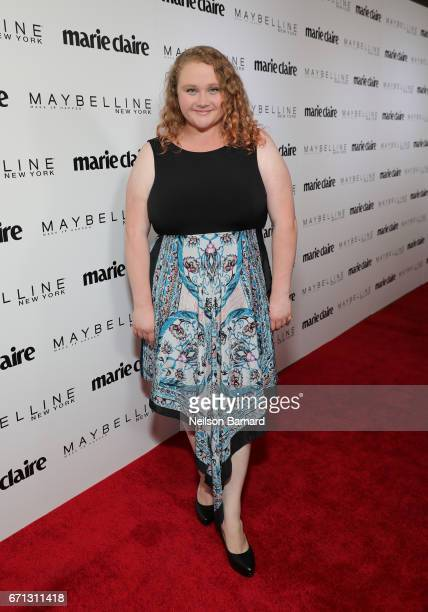 Actor Danielle Macdonald attends Marie Claire's 'Fresh Faces' celebration with an event sponsored by Maybelline at Doheny Room on April 21 2017 in...