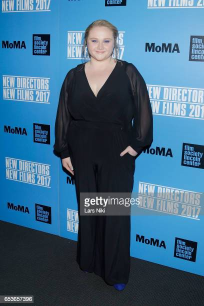 Actor Danielle Macdonald attends the New Directors/New Films 2017 Opening Night of PATTI CAKE$ presented by MoMA Film Society of Lincoln Center at...