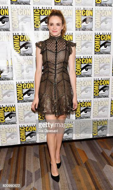 Actor Danielle Panabaker at The Flash Press Line during ComicCon International 2017 at Hilton Bayfront on July 22 2017 in San Diego California