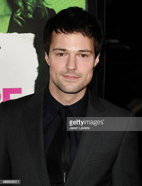 Actor Danila Kozlovsky attends the premiere of 'Vampire Academy' at Regal Cinemas LA Live on February 4 2014 in Los Angeles California