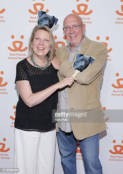 Actor Dann Florek and Karen Florek attend The Champions documentary presented by Best Friends Animal Society on March 1 2016 in West Hollywood...