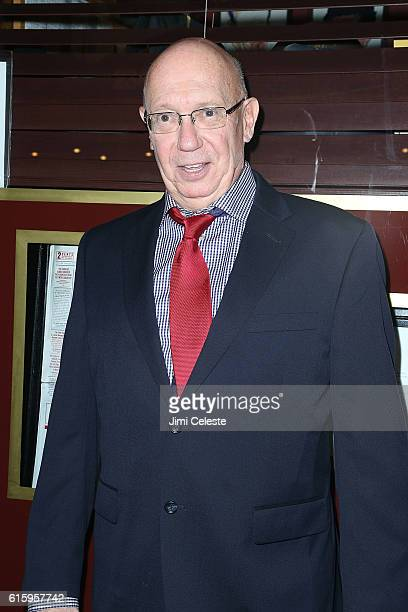Actor Dann Florek attends the Opening of Broadway's AllStar The Front Page at the Broadhurst Theatre on October 20 2016 in New York City
