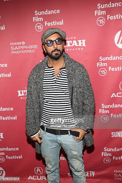 """Actor Danny A. Abeckaser attends the """"Experimenter"""" premiere at the 2015 Sundance Film Festival"""