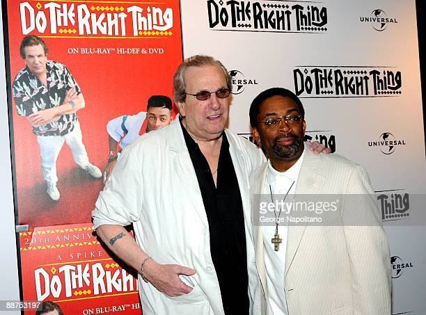 Actor Danny Aiello and director Spike Lee attend the 20th Anniversary screening of Do The Right Thing at the Directors Guild of America Theater on...