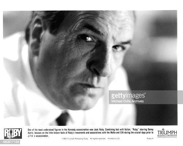 Actor Danny Aiello as Jack Ruby in the Triumph movie Ruby circa 1992