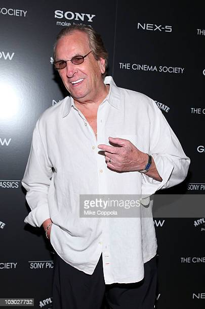 Actor Danny Aiello attends The Cinema Society Sony Alpha Nex screening of Get Low at the Tribeca Grand Hotel on July 21 2010 in New York City