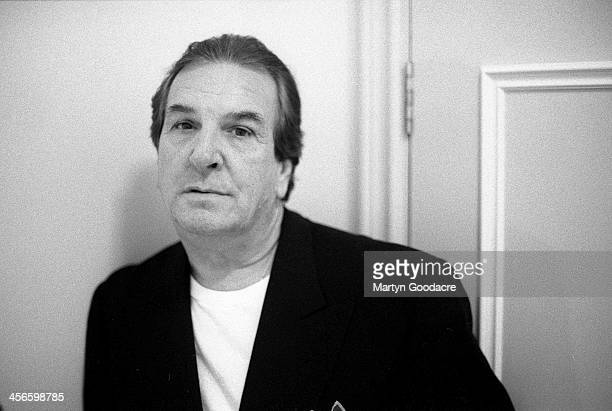 Actor Danny Aiello portrait London United Kingdom 1995