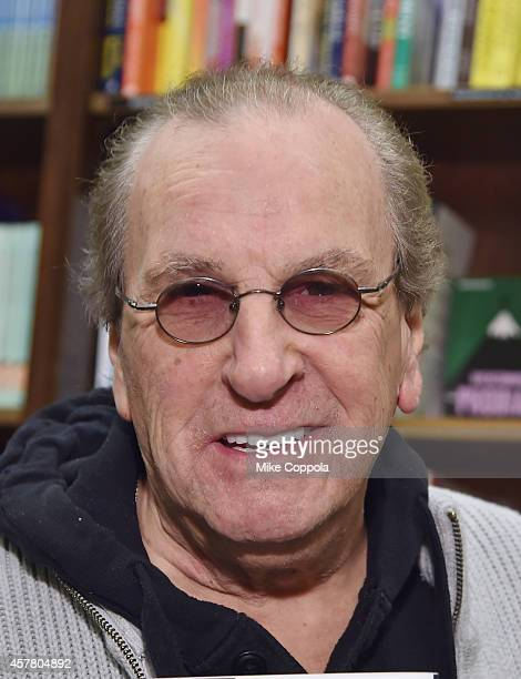 Actor Danny Aiello poses for a picture before he signs copies of his book I Only Know Who I Am When I Am Somebody Elseat Barnes Noble 82nd Street on...